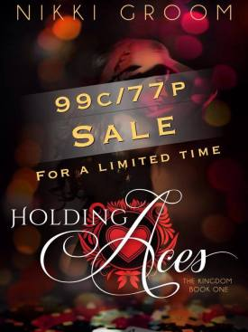 Holding Aces Sale Cover