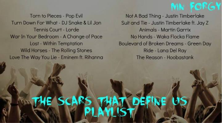 The Scars That Define Us playlist-2