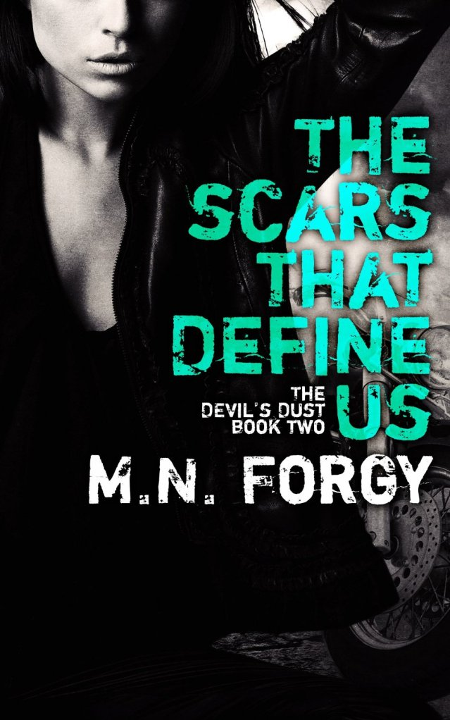 The Scars That Define Us (Devils Dust #2) by M N Forgy Amazon Cover