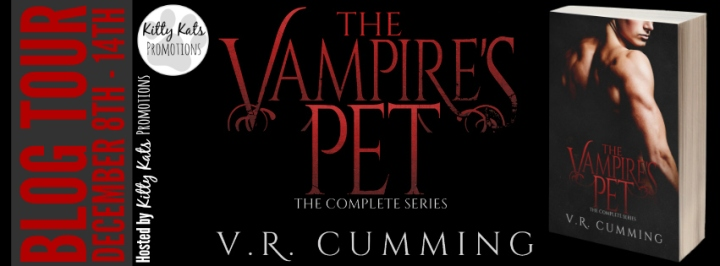 The Vampire's Pet by V.R. Cumming Blog Tour Banner _Final
