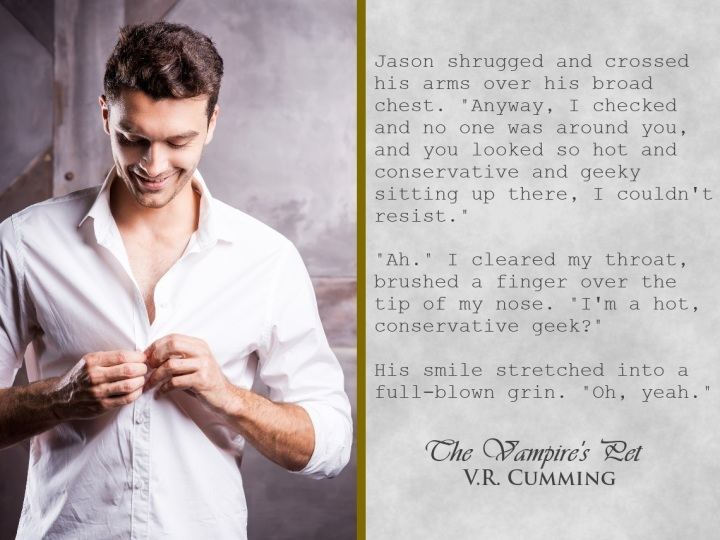 The Vampire's Pet TVP, Conservative geek