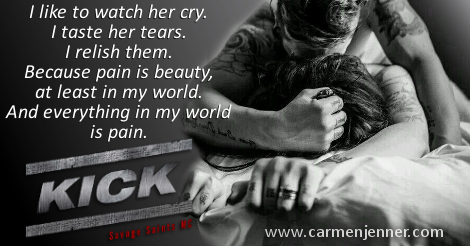 Kick Teaser Carmen Jenner Author