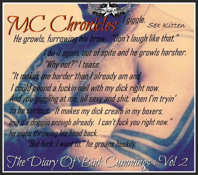 The Diary Of Bink Cummings Vol. 2 teaser vol2