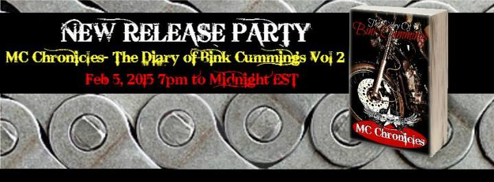 The Diary Of Bink Cummings Vol. 2 Vol 2 Release Party Graphic