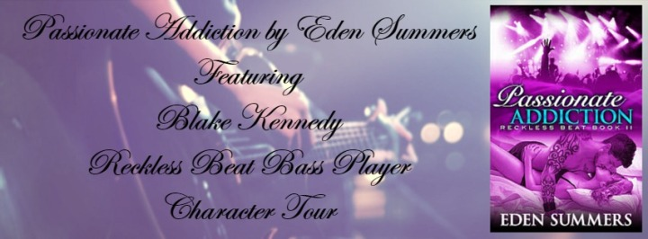 Blake Kennedy Character Tour Banner