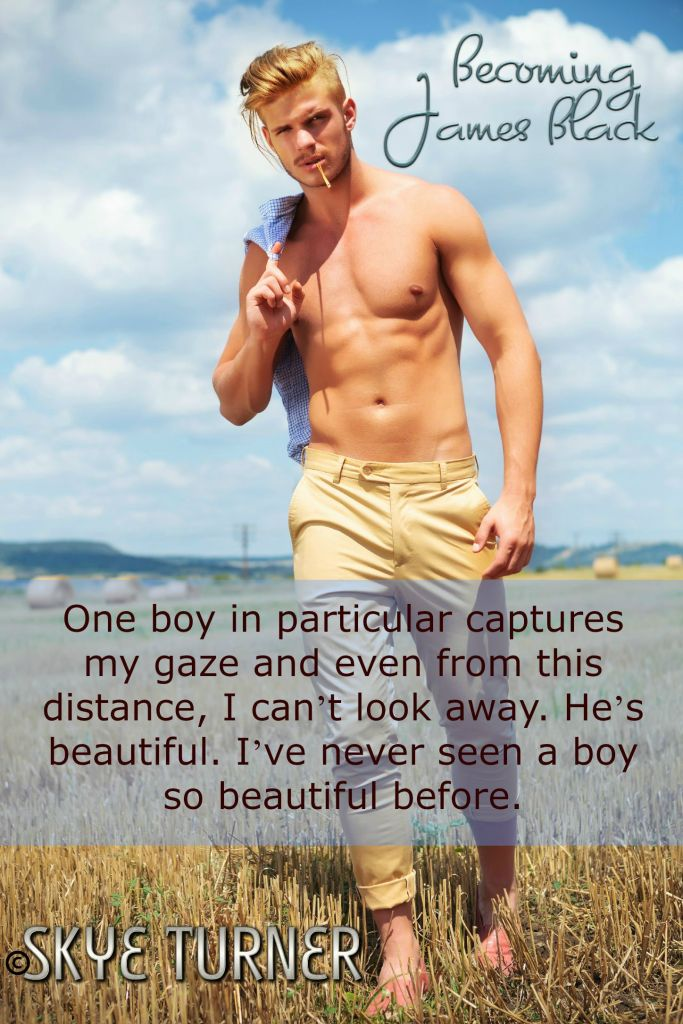 full length picture of a young topless man walking outdoor with a straw in his mouth and holding his shirt over his shoulder while looking into the camera