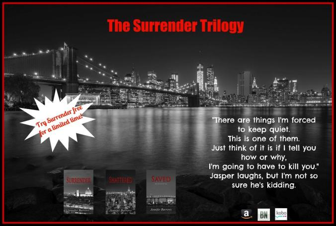 Surrender Trilogy Sale