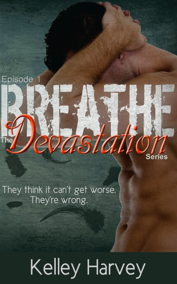 BREATHE COVER Licensed for KINDLE flat