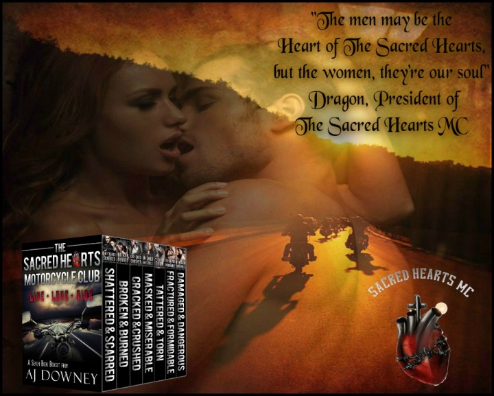 The Sacred Hearts Motorcycle Club DragonQuoteBoxset