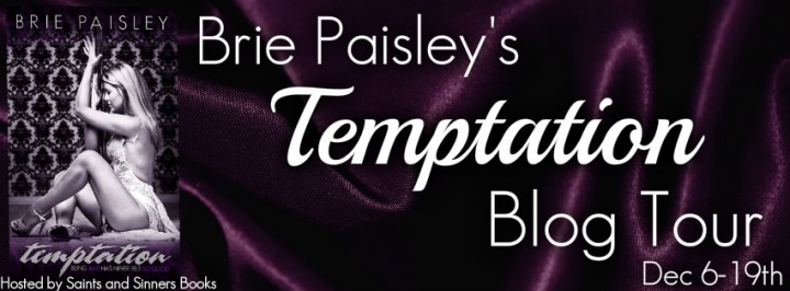 Temptation Brie Paisley Blog Tour Banner