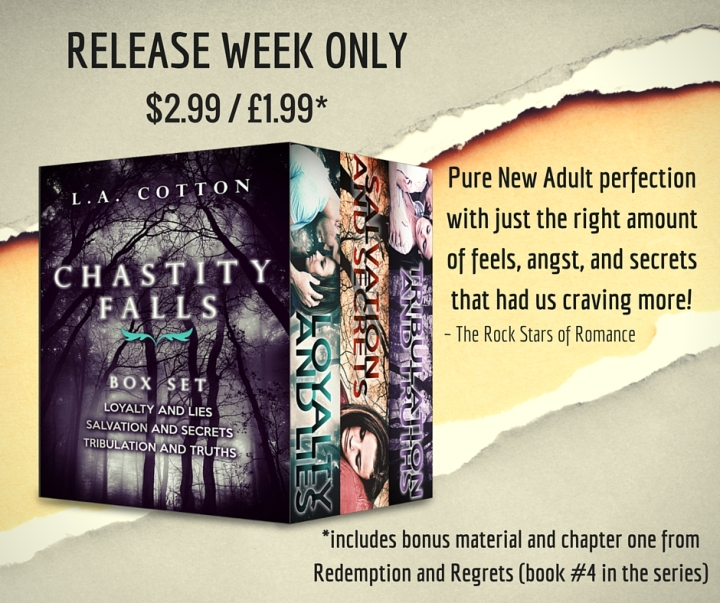 Chastity Falls Box Set Promo