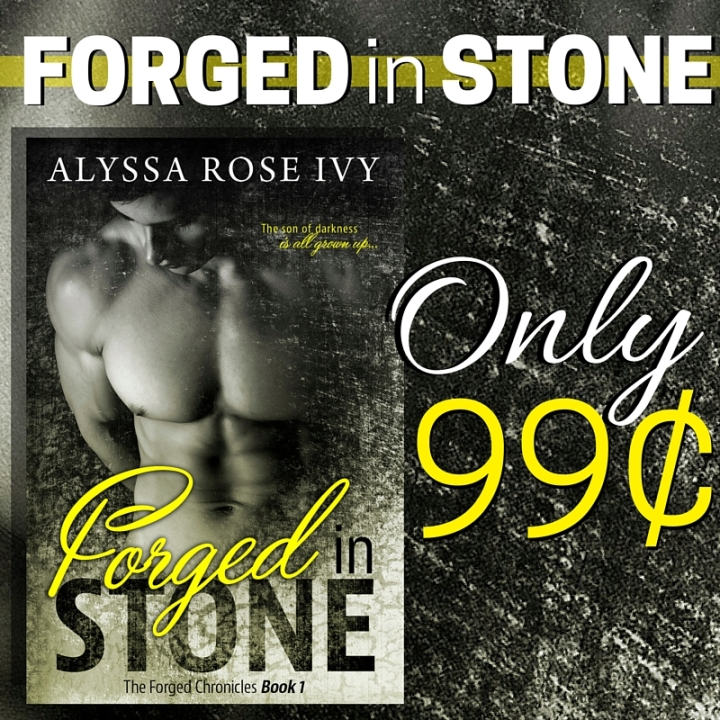 Forged In Stone Sale Banner