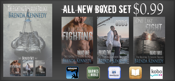 Fighting To Survive Trilogy boxed set TC promo