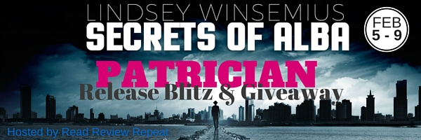 Patrician Release Blitz & Giveaway Banner