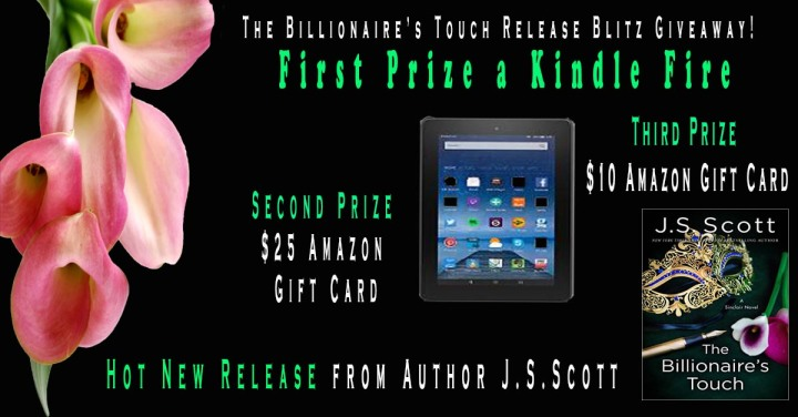 The Billionaire's Touch blitsgiveaway