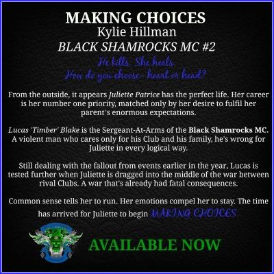 Making Choices Blurb