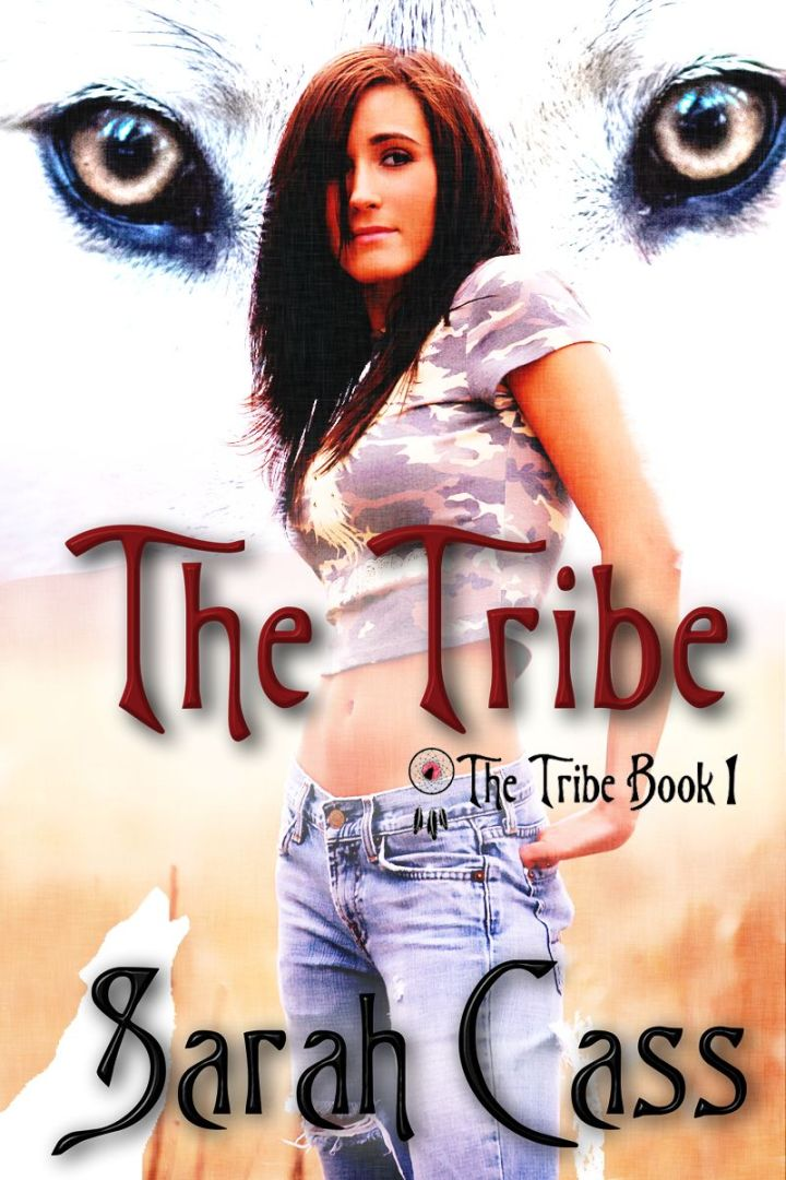 Pretty young Native American woman profile in blue jeans