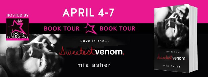 Sweetest Venom book tour sv