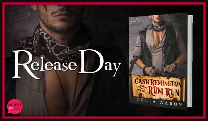 Cash Remington and the Rum Run  Release Day
