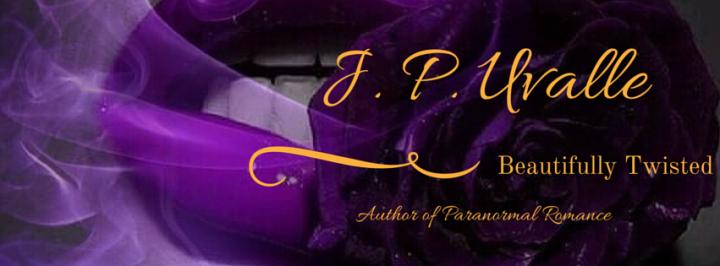J.P. Uvalle Author Banner