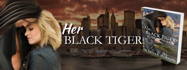 Her Black Tiger Banner