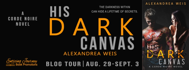his dark canvas tour banner
