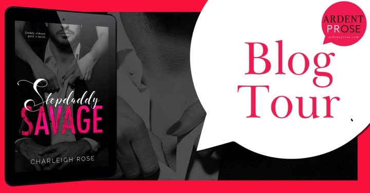 Stepdaddy Savage blog tour banner