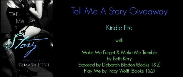 Tell Me A Story  giveaway