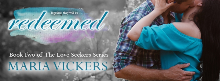 Redeemed Maria Vickers Banner