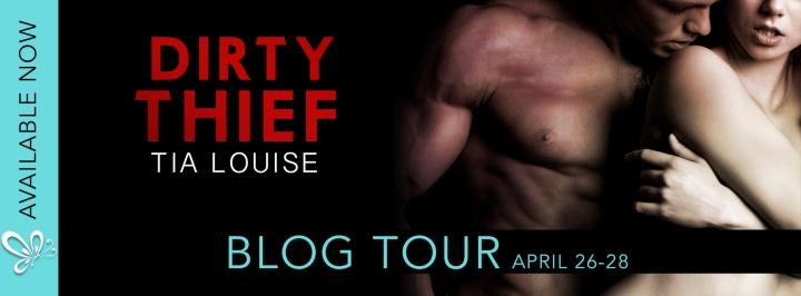 Dirty Thief Blog tour banner