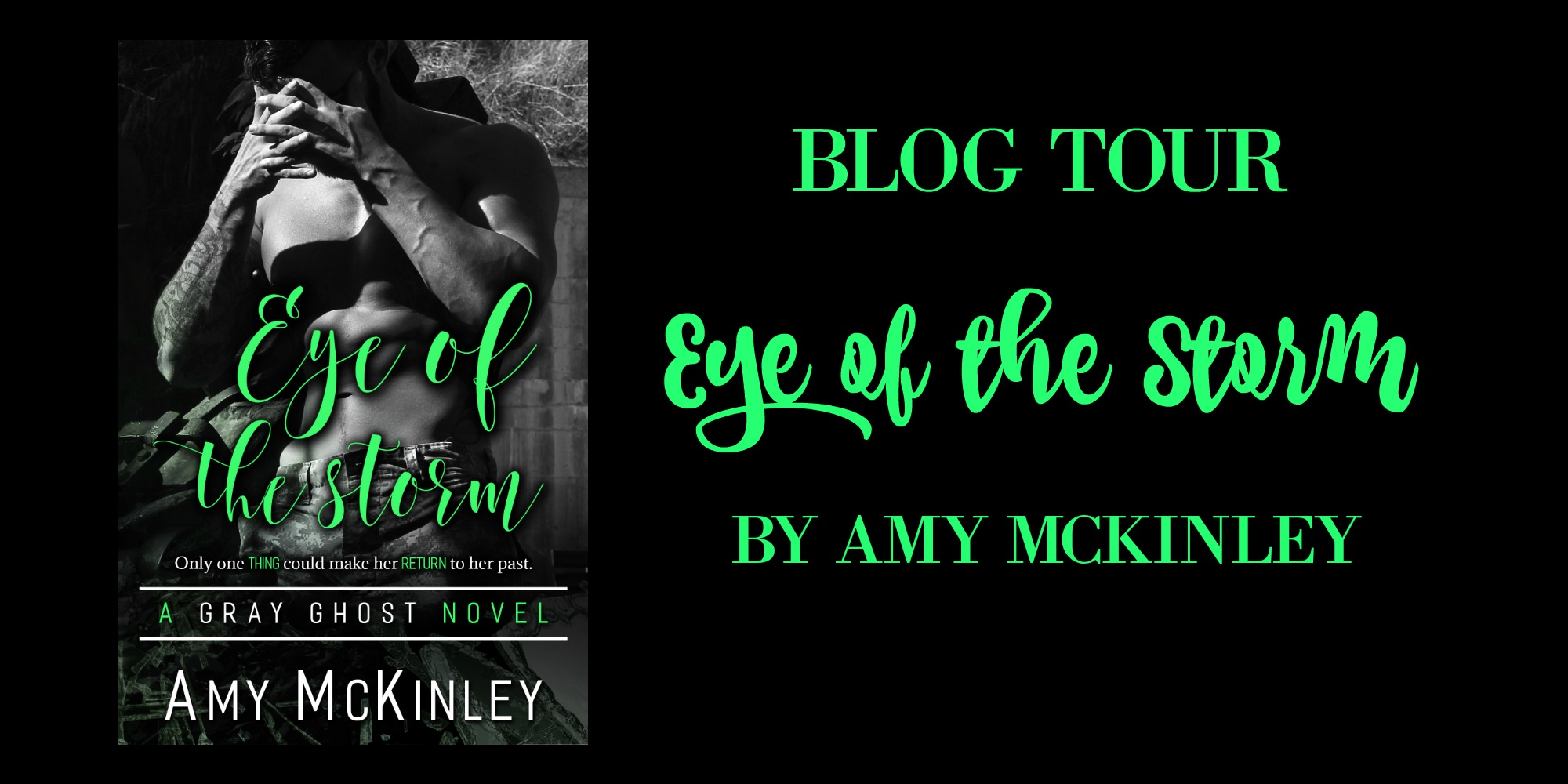 Eye Of The Storm blog tour banner
