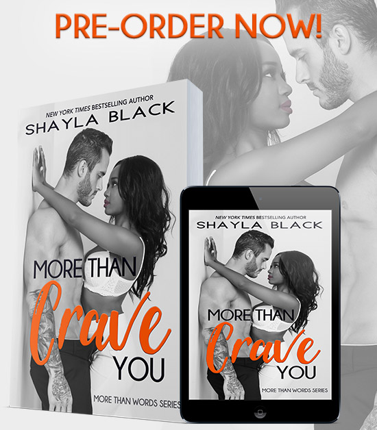 More Than Crave You PreOrder v3