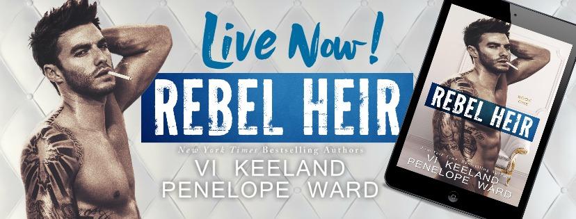 Rebel Heir Live Now banner
